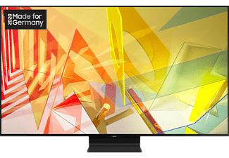 SAMSUNG GQ75Q90T QLED TV (Flat, 75 Zoll / 189 cm, UHD 4K, SMART TV)