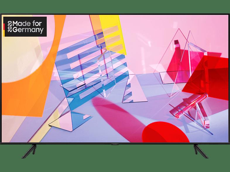 SAMSUNG GQ50Q60T QLED TV (Flat, 50 Zoll/125 cm, UHD 4K, SMART TV)