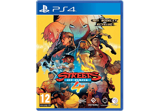 Streets Of Rage 4 (Artbook +  Key Ring) UK PS4