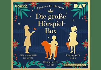 FRANCES H. Burnett - Die große Hörspiel-Box-Der geheime Garten,Der k  - (CD)
