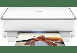 HP Multifunktionsdrucker ENVY 6020 Weiß Inkl. 3 Probemonate Instant Ink