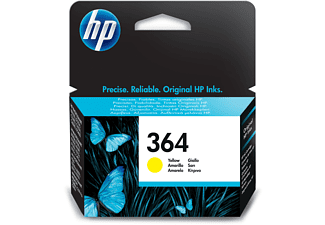 Cartucho de tinta - HP 364, Amarillo, CB320EE