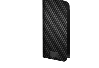 BLACK ROCK Flex Carbon, Bookcover, Samsung, Galaxy A41, Schwarz