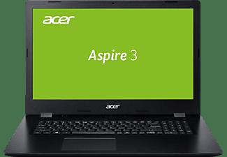 ACER Aspire 3 (A317-32-P7UD), Notebook mit 17,3 Zoll Display, Pentium® Prozessor, 8 GB RAM, 512 GB SSD, Intel UHD Graphics 605, Schwarz