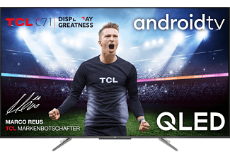 TCL 55 C 715 4K QLED TV (Flat, 55 Zoll / 139 cm, QLED 4K, SMART TV, AndroidTV 9.0)