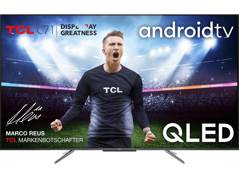 TCL 55 C 715 4K QLED TV (Flat, 55 Zoll/139 cm, QLED 4K, SMART TV, AndroidTV 9.0)