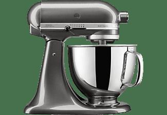 KITCHENAID 5KSM125EQG ARTISAN Küchenmaschine Liquid Graphite (Rührschüsselkapazität: 4,8 Liter, 300 Watt)