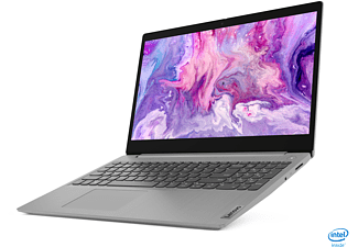 LENOVO IdeaPad 3, Notebook mit 15,6 Zoll Display, Core™ i5 Prozessor, 8 GB RAM, 512 GB SSD, Intel UHD Grafik, Platinsilber
