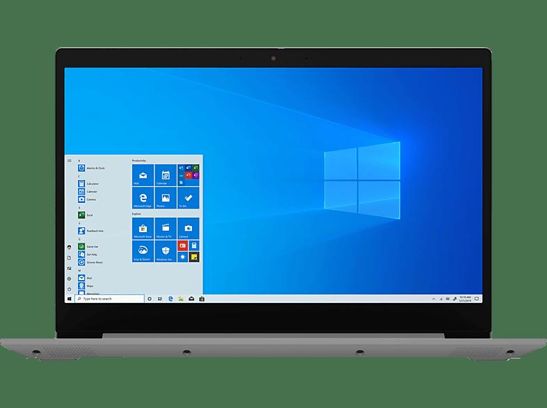 LENOVO IdeaPad 3, Notebook mit 15.6 Zoll Display, Core i5 Prozessor, 8 GB RAM, 512 GB SSD, Intel UHD Grafik, Platinsilber
