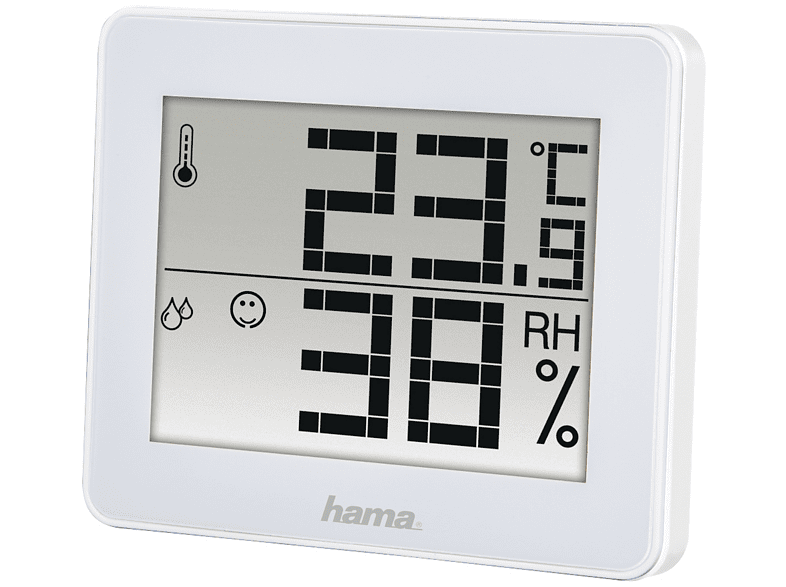 Estación meteorológica - Hama TH-130 Blanco - Media Markt