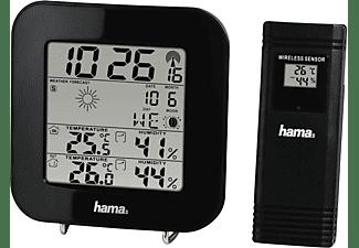 Estación meteorológica - Hama EWS-200 , Radio, Reloj DCF, Negro