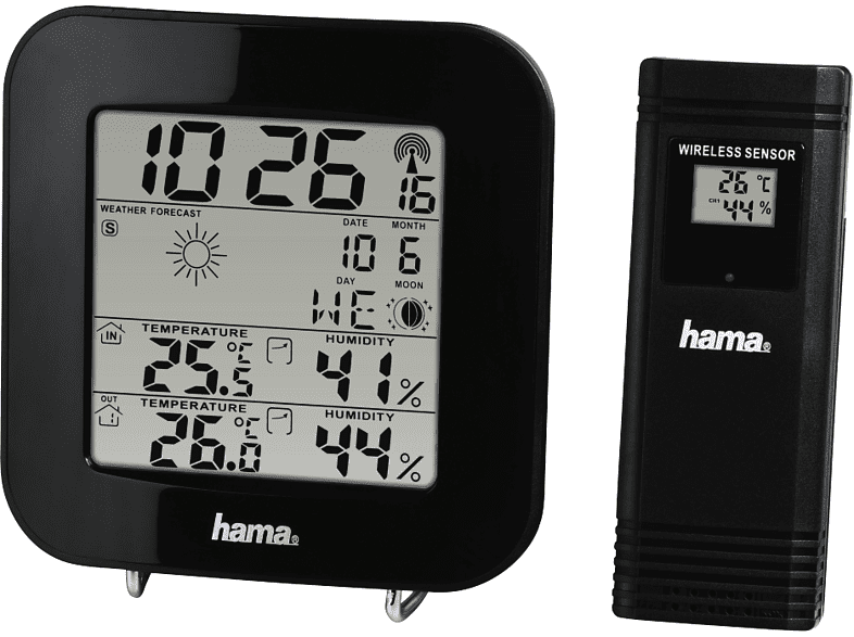 Estación meteorológica Hama EWS-200 - Media Markt