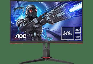 AOC C27G2ZU/BK Curved 27 Zoll Full-HD Monitor (0,5 ms Reaktionszeit, 240 Hz)