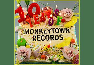 VARIOUS - 10 Years Of Monkeytown  - (Vinyl)