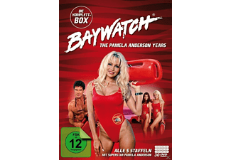 Baywatch - The Pamela Anderson Anderson Years - Komplettbox - Alle 5 Staffeln DVD