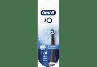 ORAL-B Aufsteckbürsten iO Ultimative Reinigung 4er Black