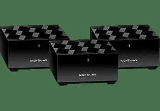 NETGEAR Nighthawk MK63 Router und 2x Satellit Set, 3er-Bundle (MK63-100PES)