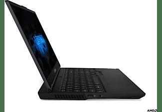 LENOVO Lenovo Legion 5, Gaming Notebook mit 15,6 Zoll Display, AMD Ryzen™ 7 Prozessor, 16 GB RAM, 512 GB SSD, GeForce GTX 1650, Phantom Schwarz