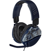 TURTLE BEACH Recon 70, Over-ear Gaming Headset Camouflage/Blau