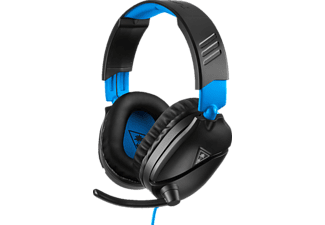 TURTLE BEACH Recon 70, Over-ear Gaming Headset Schwarz/Blau