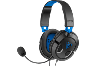 TURTLE BEACH Recon 50P, Over-ear Gaming Headset Schwarz/Blau