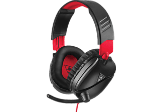 TURTLE BEACH Recon 70, Over-ear Gaming Headset Schwarz/Rot