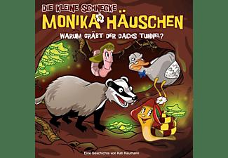 Die Kleine Schnecke Monika Häuschen - 058 - WARUM GRÄBT DER DACHS TUNNEL?  - (CD)