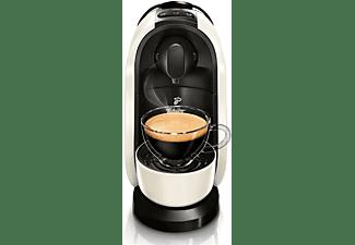 TCHIBO CAFISSIMO Pure + 60 Kapseln (Espresso,  Filterkaffee, Caffè Crema) Kapselmaschine Weiß