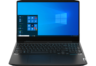 LENOVO IdeaPad Gaming 3i, Gaming Notebook mit 15,6 Zoll Display, Core™ i7 Prozessor, 16 GB RAM, 512 GB SSD, GeForce GTX 1650, Onyx Schwarz