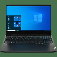 LENOVO IdePad Gaming 3i, Gaming Notebook mit 15,6 Zoll Display, Intel® Core™ i5 Prozessor, 16 GB RAM, 512 GB SSD, GeForce GTX 1650 Ti, Onyx Schwarz
