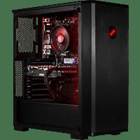 JOULEPERFORMANCE Gaming PC Force Strike GTX1660S AR5, R5-3400G, 16GB RAM, 500GB SSD, GTX 1660 Super, Schwarz