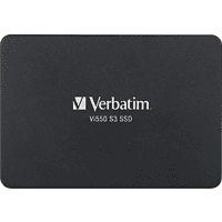 VERBATIM SSD Festlplatte Vi550 S3 256GB, SATA 6Gb/s, 2.5 Zoll, intern (49351)