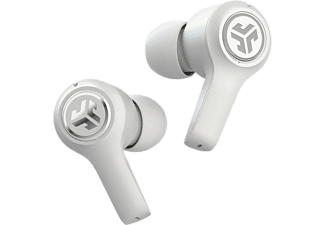 JLAB AUDIO Jbuds Air Executive - Écouteurs True Wireless (In-ear, Blanc)