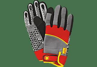 WOLF GH-M 10 Geräte-Handschuhe, Grau/Rot/Gelb