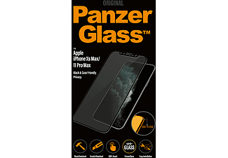 PANZERGLASS Zwarte Privacy Black Friendly Case voor Apple iPhone Xr/11