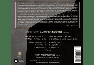 Piotr Anderszewski, Chamber Orchestra Of Europe - Klavierkonzerte 25 & 27  - (CD)