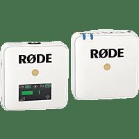 RODE Wireless GO, Mikrofon, Weiß
