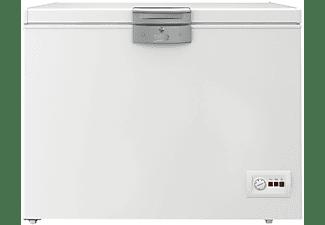 Congelador horizontal - Beko HSA32530N, Cíclico, 298 l, Blanco