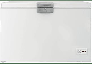 Congelador horizontal - Beko HSA40530N, Cíclico, 360 l, Blanco