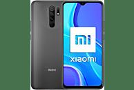 "Móvil - Xiaomi Redmi 9, Gris, 64 GB, 4 GB, 6.53"" Full HD+, MediaTek Helio G80, Quad Cam, 5020 mAh, Android"