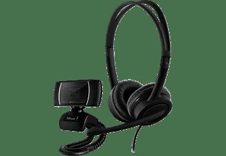 TRUST Doba 2-in-1 Home Office Set mit Webcam und Headset (24036)