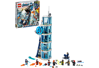 LEGO Avengers – Kräftemessen am Turm Bausatz, Mehrfarbig