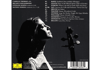 Camille Thomas, Stèphane Denève, Philharmonic Orchestra Brussels - Voice Of Hope  - (CD)