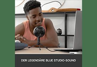 BLUE MICROPHONES Snowball iCE Black USB Mikrofon, Schwarz