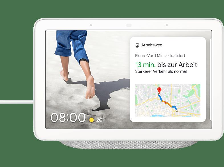 Image of Google Home Nest Hub Kreide Smart Assistant
