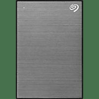 SEAGATE 2TB Festplatte Backup Plus Slim, USB 3.0, grau (STHN2000406)