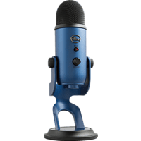 BLUE MICROPHONES Yeti Midnight USB Mikofon, Blau