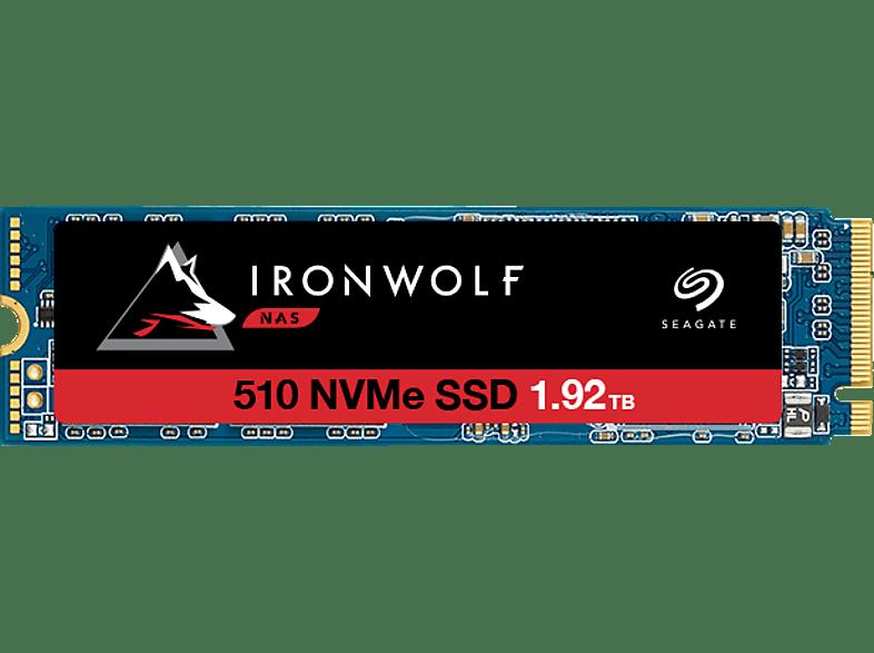 SEAGATE IronWolf 510 Festplatte Retail, 1,92 TB SSD PCI Express, intern