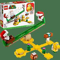 LEGO 71365 Piranha-Pflanze-Powerwippe – Erweiterungsset Bausatz, Mehrfarbig