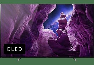 SONY KE-55A85 OLED TV (Flat, 55 Zoll / 139 cm, OLED 4K, SMART TV, Android TV)